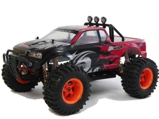 RC auto HQ 722A2 monster truck brushless 4WD 1:10 - Poštovné ZDARMA