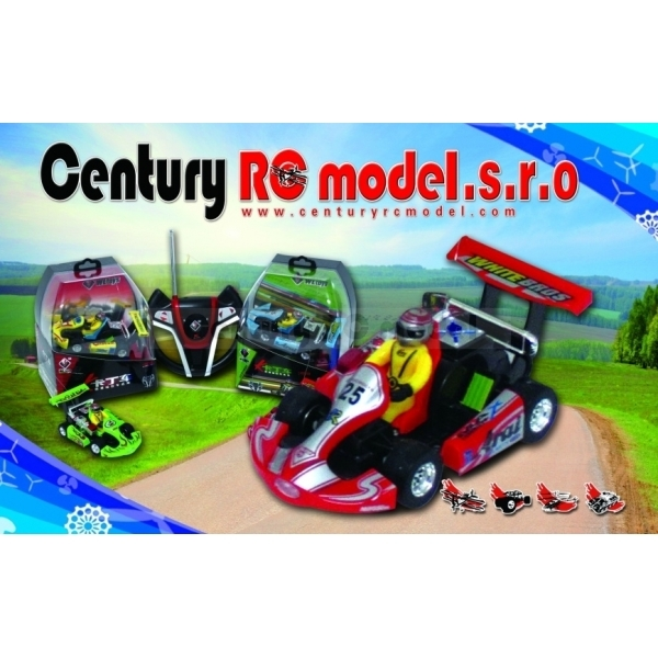 RC mini motokára crazy racing WL 2011KART 1:23