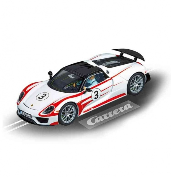 Auto Carrera Evolution Porsche 918 Spyder, No.3
