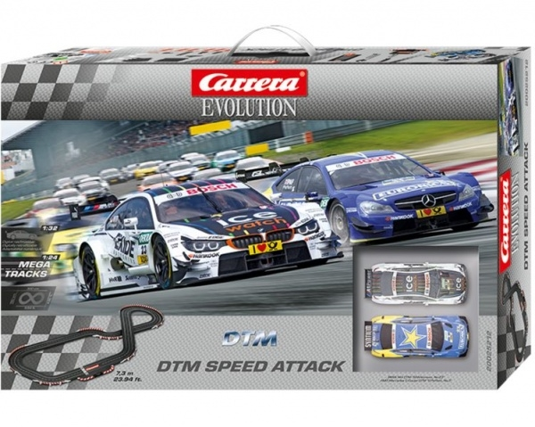 Autodráha Carrera Evolution DTM Speed Attack